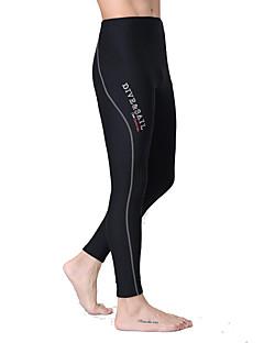 Dive & Sail® Mulheres Homens Unissexo 1,5 mm Mergulho Skins Calça de MergulhoImpermeável Respirável Térmico/Quente Secagem Rápida