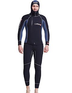Dive & Sail® Pánské 5mm Potápěčské Skins wetsuit Top Potápěčské kukly plné WetsuitsVoděodolný Prodyšné Zahřívací Rychleschnoucí Odolný