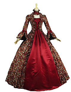 Steampunk®Victorian Renaissance Gothic Prom Dress Ball Gown Sexy Vampire Theater Reenactment Costume