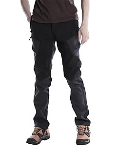 KORAMAN Men's Outdoor Windproof Breathable Anti-dirt Softshell Warm Fleece Liner Mountain Hiking Ski Pants