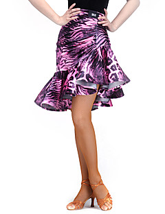 BasElasthanne VeloursFemme Motif/Impression Entraînement Danse latine Taille moyenne