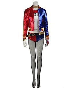 Costumes de Cosplay Chaussettes/Bas Pour Halloween Costume de Soirée Bal Masqué Cosplay Assassin Cosplay de Film Rouge Bleu Jacquard