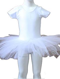 Ballet Tutus Dame / Børne Ydeevne / Træning Nylon / Tyl / Lycra 1 Stykke Tutus As the Size Chart