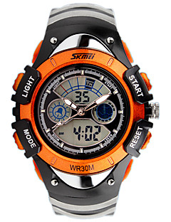 Heren Dames Uniseks Sporthorloge Modieus horloge Polshorloge Digitaal horloge Kalender Kwarts Digitaal Silicone BandBedeltjes