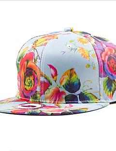 女性の春の国家風のプリントグラフィティカップルヒップホップの日の野球帽