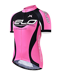 Mysenlan サイクリングジャージー 女性用 半袖 バイク ジャージー 高通気性 ポリエステル ファッション 夏 ブルー ローズピンク