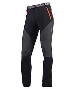 NUCKILY® Cycling Tights Men's Waterproof Breathable Quick Dry Ultraviolet Resistant Bike Tights Bottoms Polyester ClassicExercise &