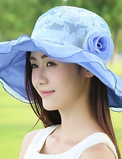 Summer Aanti-UV Sunscreen Lace Flower Sun Wide-brim Fashion Hat