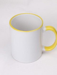 Originale Glas og Krus, 400 ml DIY Maker Heat Sensitive Farve skiftende Keramik Teak Nøgen Hverdags Drikkeredskaber