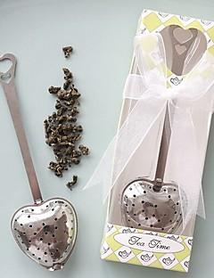 Tee Party Gast-Geschenke(Weiß / Grün) -Nicht-personalisierte-Klassisches Thema Edelstahl