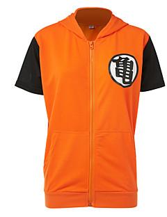 Inspiriert von Dragon Ball Cosplay Anime Cosplay Kostüme Cosplay Tops / Bottoms Mehre Accessoires Patchwork Top Für Mann Frau