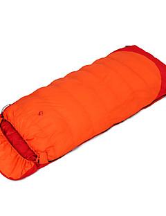 מזרן לשינה שק שינה מלבני יחיד 0 פלומת ברווז 1500g 220X85 צעידה לטייל עמיד ללחות נשימה עמיד אולטרה סגול מוגן מגשם נגד חרקים מאוורר היטב