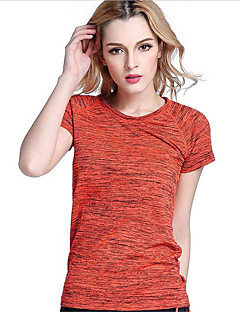 Women's Short Sleeve Running T-shirt Tops Quick Dry Breathable Spring Summer Fall/Autumn Sports WearExercise & Fitness Racing Basketball
