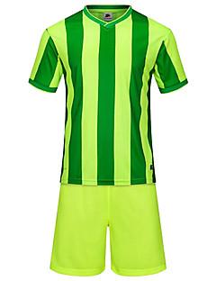 Herre Fotball Klessett/Dresser Pustende Bekvem Sommer Lapper Terylene Fotball Hvit Grønn Blå