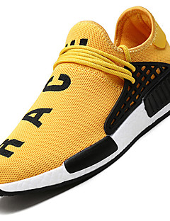 Men's Sneakers Spring Summer Fall Comfort Light Soles Tulle Outdoor Athletic Casual Low Heel Running