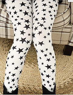 Girls' Casual/Daily Print Pants-Cotton All Seasons