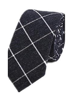 עניבה ואסקוט פסים כותנה כל העונות מסיבה עבודה יום יומי גברים