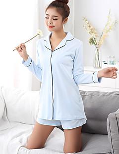 Feminino Pijama Algodão Feminino