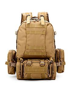 30 L Backpacking paketi Camping & planinarenje Lov Outdoor Podesan za nošenje Braon Oksford