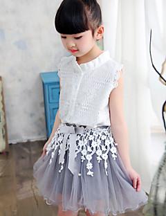 Girl's Beach Solid Dress,Silk Cotton Summer Sleeveless