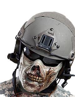 男女兼用 フェイスマスク 狩猟 レジャースポーツ 高通気性 防風 耐久性 春 夏 秋 冬 ビスク