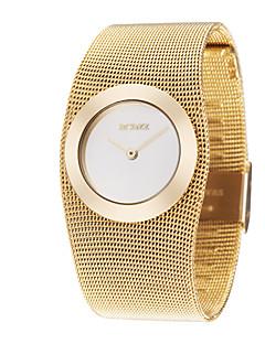 Dames Dress horloge Modieus horloge Polshorloge Japans Kwarts Legering Band Elegante horloges Luxueus Goud Gouden