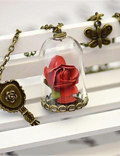 달콤한 로리타 목걸이 빈티지 스타일 로리타 액세서리 목걸이 솔리드 에 대한 폴리에스테르 금속