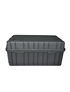 162 L Vízálló Porbiztos Ütésálló Viselhető Többfunkciós Keményhéjas Fekete