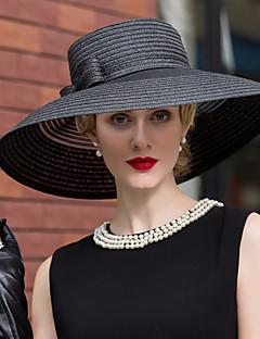 Tul Împletitură Stil Coș Diadema-Nuntă Ocazie specială Informal Pălării/Căciuli 1 Bucată