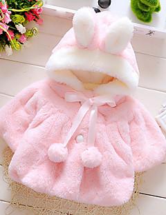 Baby dun- og bomuldsforet Bomuld Ensfarvet I-byen-tøj Afslappet/Hverdag Ferie Alle årstider-