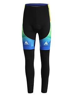 Miloto מכנסי רכיבה לגברים אופניים מכנסיים אימונית טייץ רכיבה על אופנייםנושם שמור על חום הגוף ייבוש מהיר עמיד בטנת פליז חדירות גבוהה