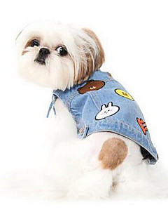 Dog Vest Dog Clothes  Summer Princess Cute Fashion Casual/Daily Light Blue Blushing Pink