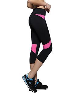 Dames Hardlopen Cropped Ademend Zweetafvoerend Zacht Comfortabel Zomer Yoga Kamperen&Wandelen Training&Fitness Recreatiesport Hardlopen