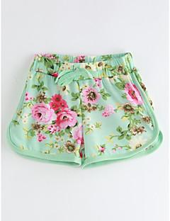Baby Shorts-Lässig/Alltäglich Blumen Baumwolle Sommer