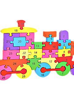 Puzzles Kit de Bricolage Blocs de Construction Jouets DIY  Traîne