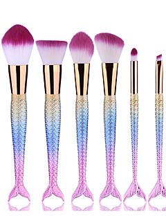 6Eyeliner Brush Eyelash Brush dyeing Brush Powder Brush Sponge Applicator Foundation Brush Contour Brush Makeup Brush Set Blush Brush