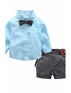 Bavlna Jedna barva Léto Jaro Košile,Dlouhý rukáv