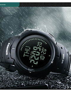 Herren Damen Sportuhr Kleideruhr Smart Uhr Modeuhr Armbanduhr Einzigartige kreative Uhr Chinesisch digitalLCD Compass Rechenschieber