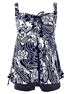 Womens Vintage Tribal Two Piece Swimsuit Tankini