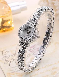 Dame Moteklokke Armbåndsur Unike kreative Watch Hverdagsklokke Quartz Legering BandVedhend Armband Luxury Elegante klokker Kul Fritid