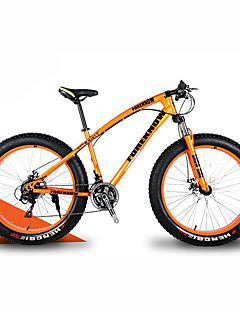Mountain Bike Sneeuwfiets Wielrennen 21 Speed 66.0 cm/700CC 40 mm SHIMANO 30 Olie schijfrem Geveerde voorvork