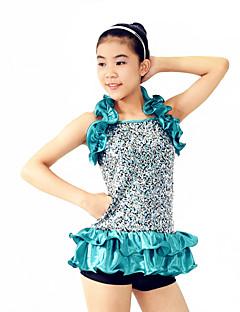 Žene / Dječji-Outfits- zaJazz(Plav,Spandex / Polyester / Šljokičasti,Paillettes / Volani / Šljokice)