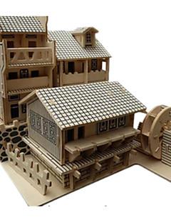 GDS-sett 3D-puslespill Puslespill Leketøy Kjent bygning Kinesisk arkitektur Arkitektur 3D GDS simulering Uspesifisert Unisex Deler