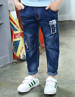 Jungen Jeans Bestickt Baumwolle Frühling Sommer