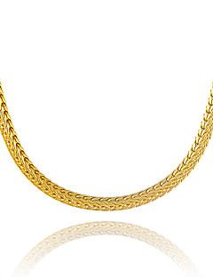 Pánské Dámské Řetízky Geometric Shape Had Pozlacené Jedinečný design bižuterie Euramerican Velké šperky Šperky Pro Párty Ležérní Klub