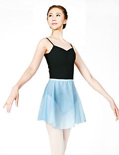 Balett Szoknya Női Edzés Sifon szatén 1 darab Ejtett Szoknyák