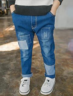 Gutt Jeans Ensfarget Høst