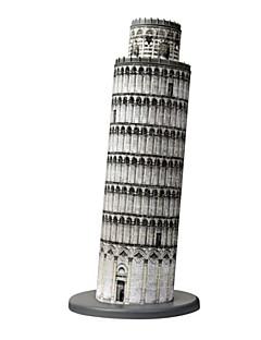 GDS-sett 3D-puslespill Puslespill Leketøy Kjent bygning Arkitektur 3D Unisex Deler