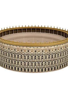 GDS-sett 3D-puslespill Puslespill Leketøy Sirkelformet Kjent bygning Arkitektur 3D Unisex Deler