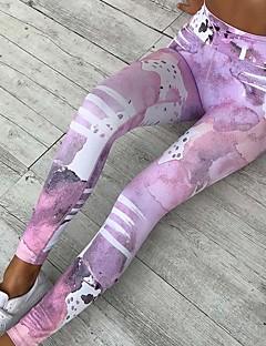 Női Nyomtatott Mintás Legging